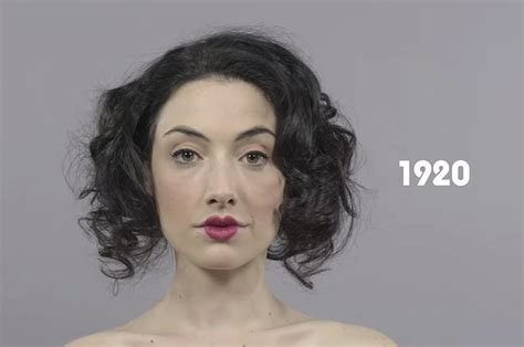 buzzfeed hairstyles throughout history watch 100 years of makeup in less than a minute