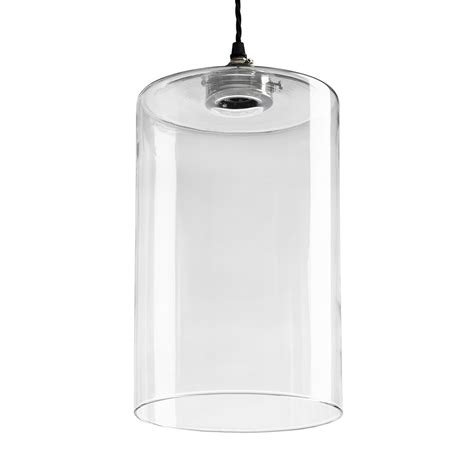 Buy Old School Electric Blown Glass Cylinder Pendant Glass Cylinder Pendant Light