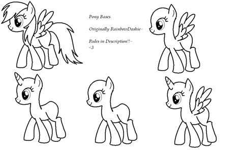Ailcorn Mlp Base Coloring Page Coloring Pages Mlp Fim Coloring Pages
