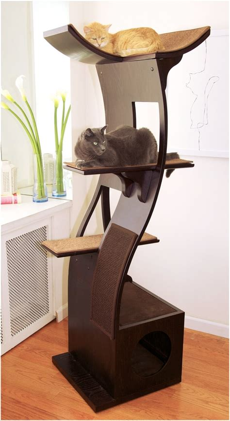 cat furniture cool cat tree furniture designs your cat will love