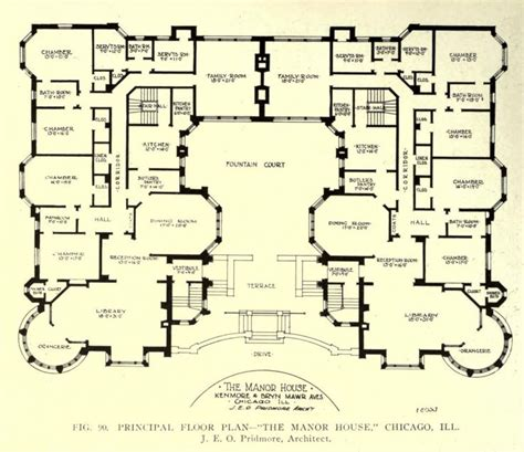 manor house plans floor plan of the manor house chicago floor plans