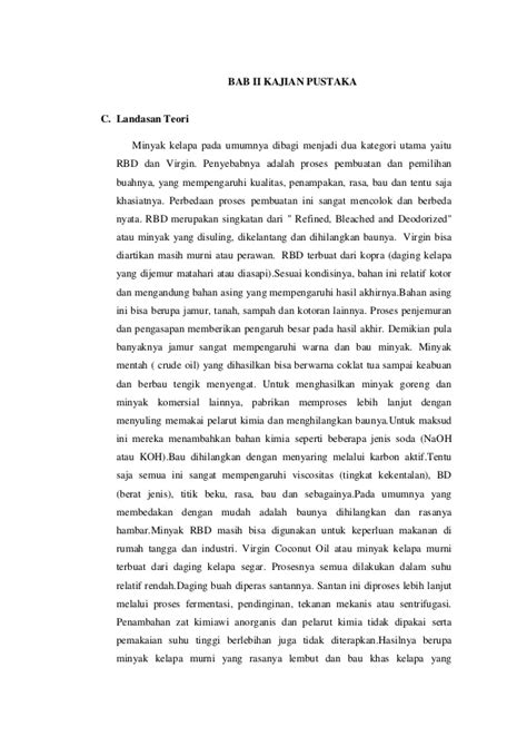 Coconut Vco Minyak Pelarut laporan tetap mikrobiologi tentang pembuatan vco