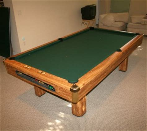 brunswick 8 pool table 3 slate ping pong
