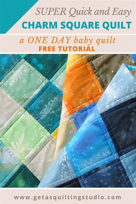 Starting A Quilt by And Easy Charm Square Quilt Tutorial