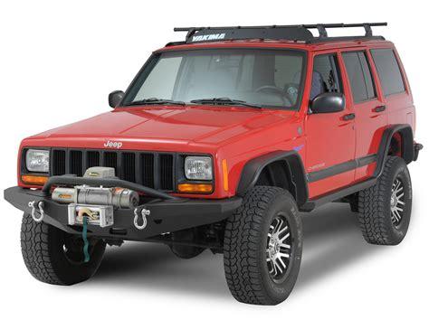 Jeep Xj Bull Bar Smittybilt 76811 Xrc M O D Bull Bar For 84 01 Jeep