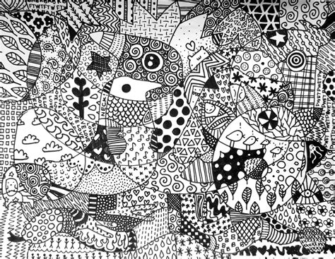zentangle design life as a casual teacher zentangles