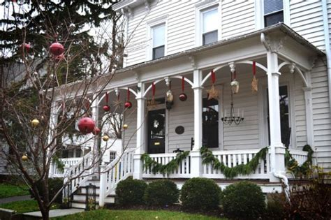 outdoor christmas decorations ideas porch porches and patios dressed for christmas ideas and