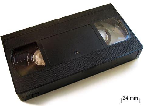 vhs cassette vhs la enciclopedia libre