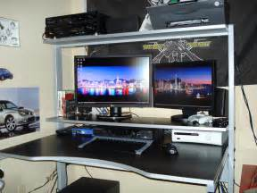 Pc Desk For Gaming by Best Gaming Computer Desk 2014 Atlantic 33935701 Gaming
