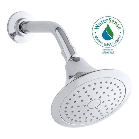 Forte Shower by Kohler Forte 1 Spray Single Function 5 1 2 In Showerhead