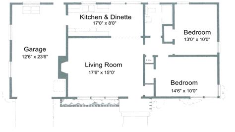 2 bedroom floor plans ranch 2 bedroom house plans free 2 bedroom ranch house plans 1