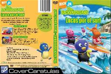 backyardigans 15 el surf es la moda covercaratulas ver tema ok para quien se anime dvd