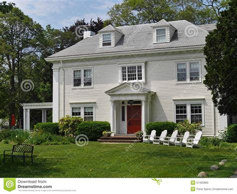 white siding house house with white siding stock photo image 57425983