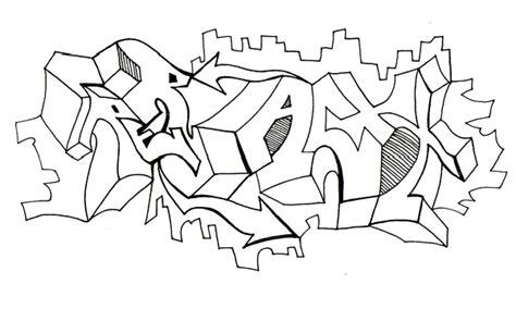 sketch graffiti letters  blackbook  rob larsen