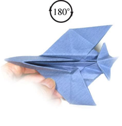 Origami Paper Plane Fighter - origami quotes like success