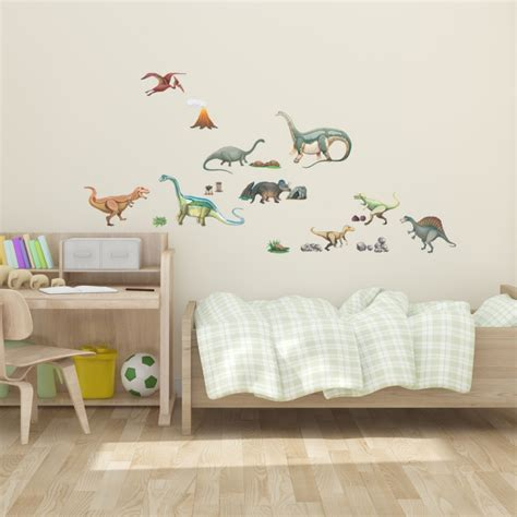 peelable wall stickers dinosaurs wall sticker fabric wall decal peel and stick removable and repositionable stickers