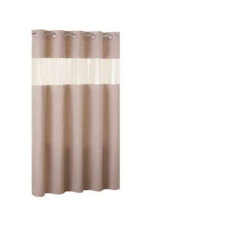Shower Liner Home Depot by Hookless Vision Brownstone Shower Curtain Liner In Matte
