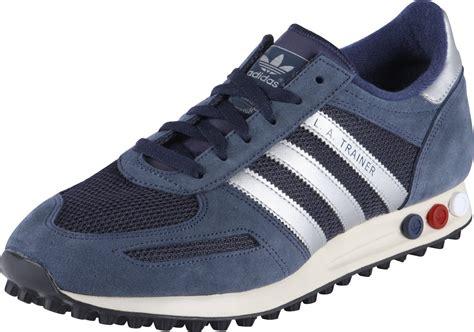Adidas La Trainer adidas la trainer schuhe blau silber