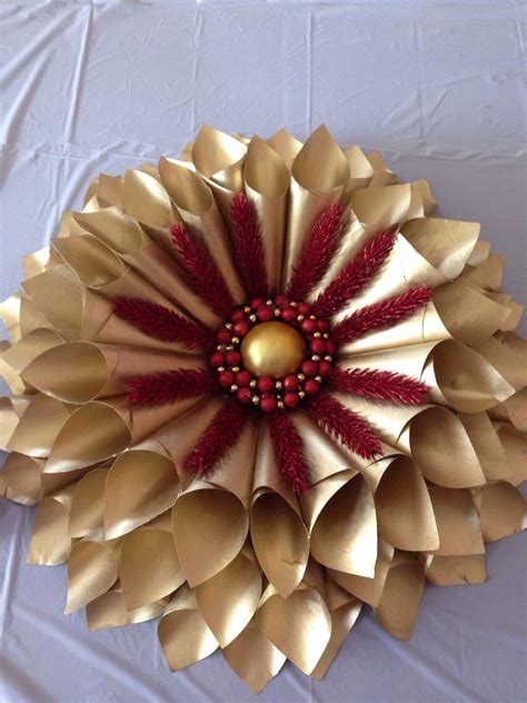 How To Make A Wreath Out Of Paper - how to make a wreath out of paper from books musely