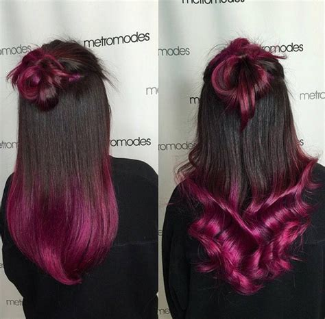 2 town hair color styles 22 trendy and tasteful two tone hairstyle you ll love