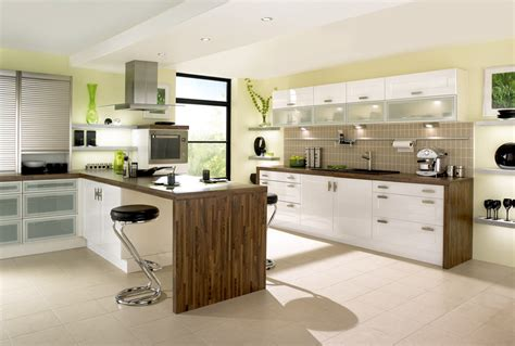 modern designer kitchens green kitchens