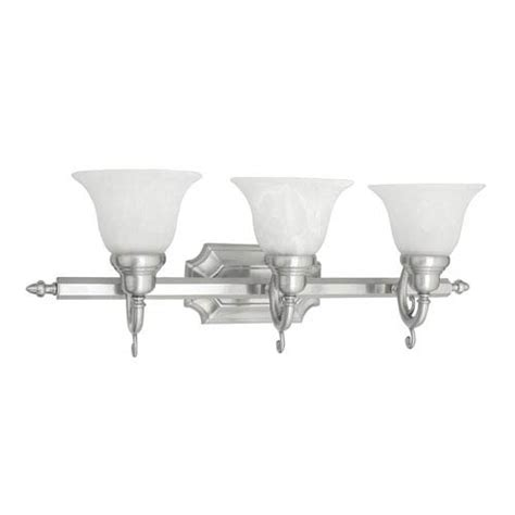 french bathroom light fixtures livex lighting french regency three light brushed nickel