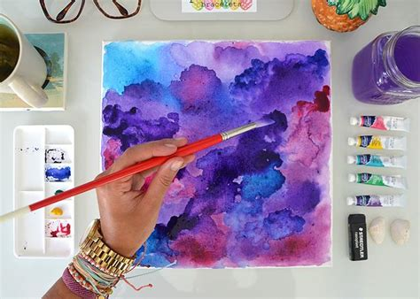 watercolor diy diy watercolor wall pura vida bracelets