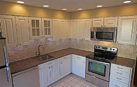 Remodeled Kitchen Cabinets by Cheap Kitchen Remodel White Cabinets Kitchen Remodel