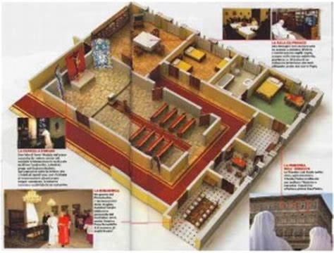 papal apartments floor plan the eponymous flower papal apartment