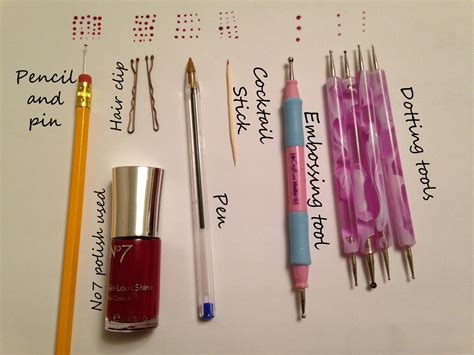 use design tool how to make a dotting tool the adventures of a nail