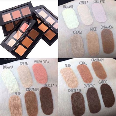 anastasia cream contour kit light beauty trends cream contour blushing in hollywood