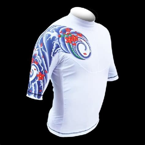 japanese tattoo vest maria tattoo japanese tattoo turbulence rashguard vest
