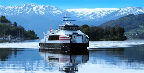 express boats from bergen popular fjord cruises from bergen with norled