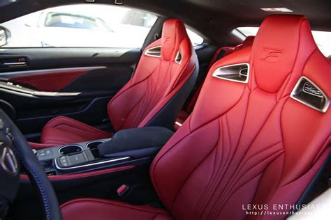 lexus rcf white interior photo gallery ultra white lexus rc f in california