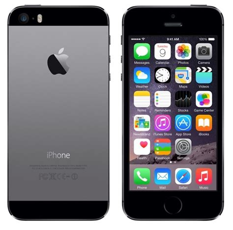 cricket iphone 5s apple iphone 5s 32gb 4g lte phone for cricket wireless in gray excellent condition used cell