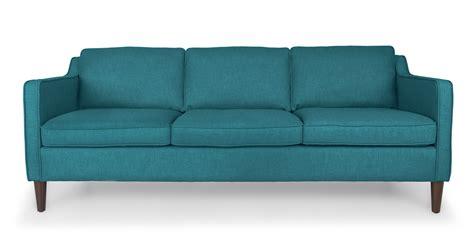 teal sofa cherie teal sofa sofas article modern mid