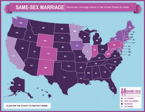 Gay marriage in the usa by state