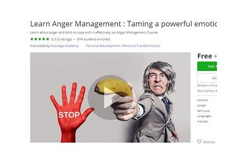 anger management coupons