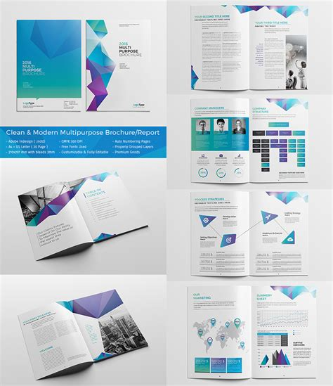 brochure design templates 20 best indesign brochure templates for creative