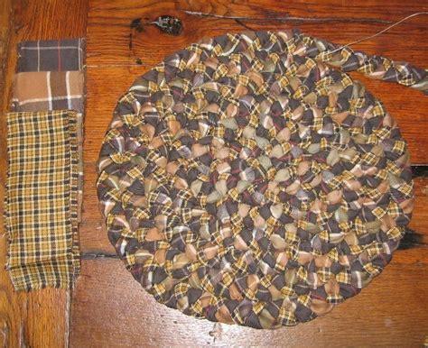 tapis tresse tapis d automne passionpatchwork