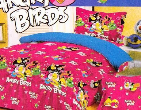 Harga Sprei Merk Bintang Kecil catchmystar sprei anak motif angry bird