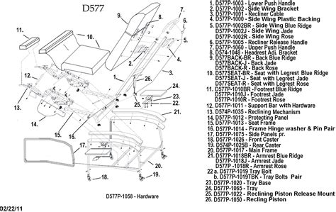 lazyboy recliner parts lazy boy chair parts diagram lazy free engine image for