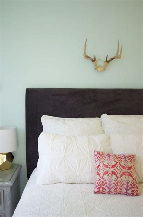 Diy Upholstered Headboard 17 Best Images About Bedroom Comforts On Diy Headboards Metal Frames And Mattress
