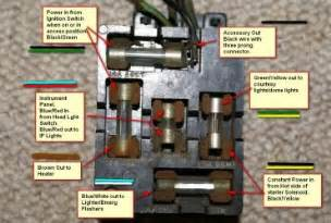 1966 mustang fuse diagram wedocable