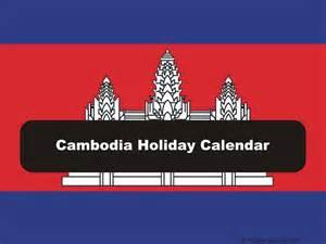 Laos Calendã 2018 Cambodia 2017 2018 Calendar