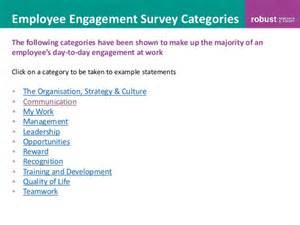 employee recognition survey template 100 sle employee engagement survey questions