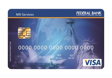 International Use Visa Gift Card - nri debit cards visa master cards international debit cards federal bank