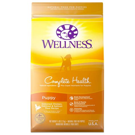 wellness puppy food wellness complete health puppy food petco