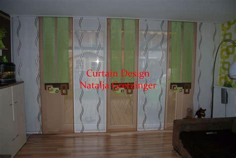Seitenschals Wohnzimmer by Dekorativer Schiebevorhang Mit 214 Sen Und Seitenschals