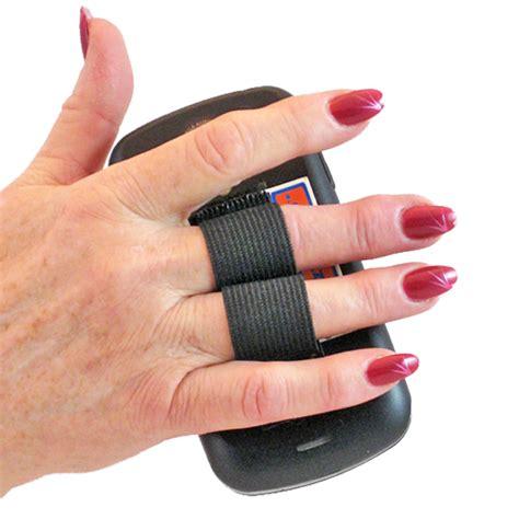 Phone Grip 2 loop phone grip black lazy comlazy